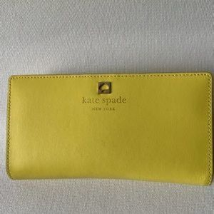 Kate Spade Cameron Street Stacy Yellow Wallet